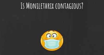 Is Monilethrix contagious?