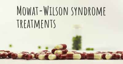 Mowat-Wilson syndrome treatments
