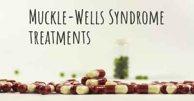 Muckle-Wells Syndrome treatments