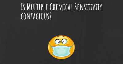 Is Multiple Chemical Sensitivity contagious?