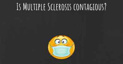 Is Multiple Sclerosis contagious?