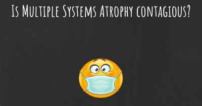 Is Multiple Systems Atrophy contagious?