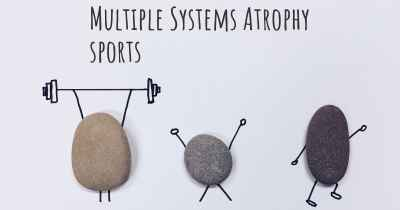 Multiple Systems Atrophy sports