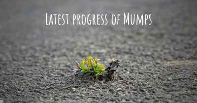Latest progress of Mumps