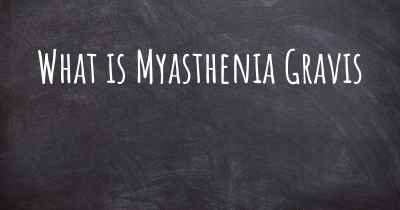 What is Myasthenia Gravis