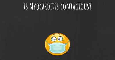 Is Myocarditis contagious?
