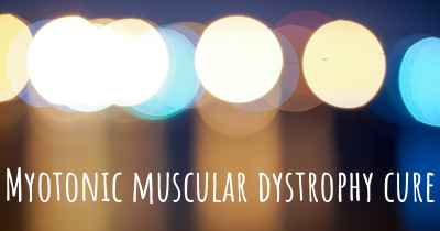 Myotonic muscular dystrophy cure