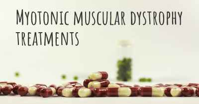 Myotonic muscular dystrophy treatments