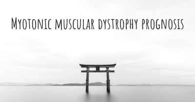 Myotonic muscular dystrophy prognosis