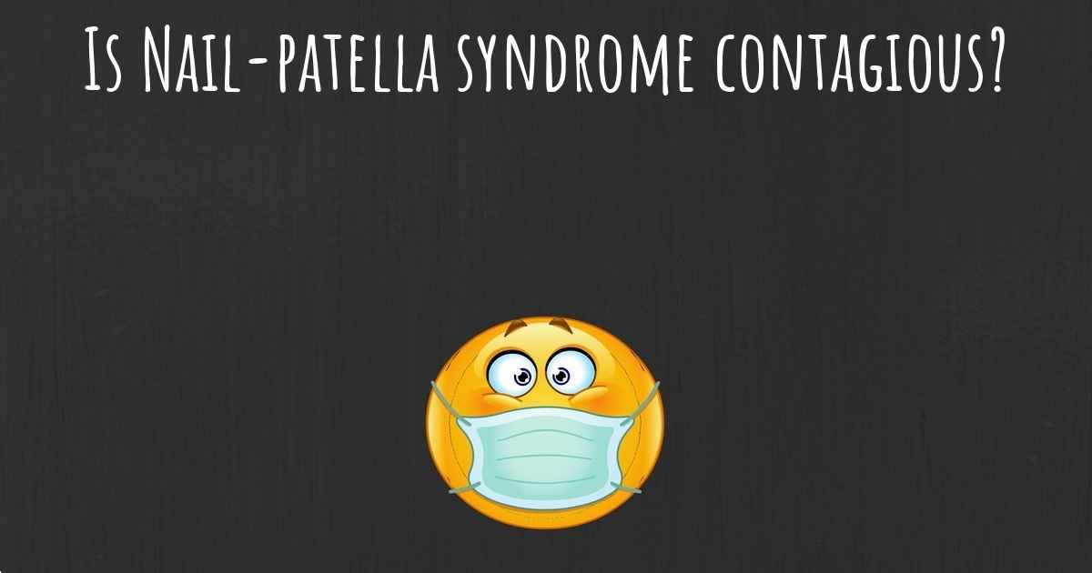 ▷ What is the life expectancy of someone with Nail-patella syndrome?
