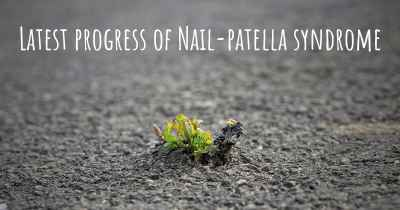 Latest progress of Nail-patella syndrome
