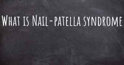What is Nail-patella syndrome