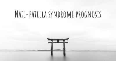 Nail-patella syndrome prognosis