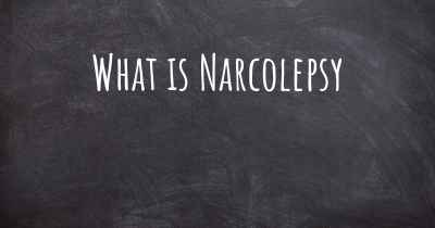 What is Narcolepsy