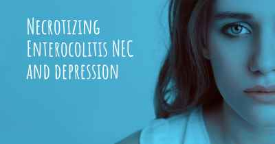 Necrotizing Enterocolitis NEC and depression
