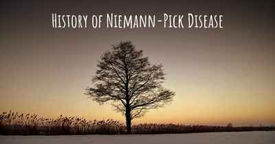 History of Niemann-Pick Disease