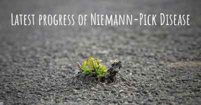 Latest progress of Niemann-Pick Disease