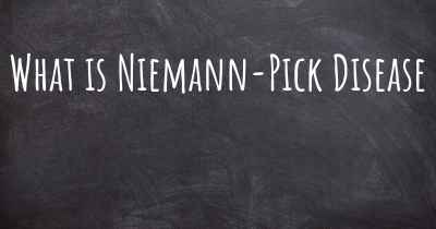 What is Niemann-Pick Disease
