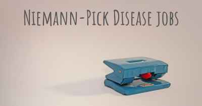 Niemann-Pick Disease jobs