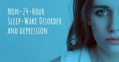 Non-24-Hour Sleep-Wake Disorder and depression