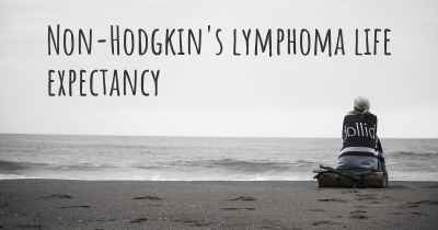 Non-Hodgkin's lymphoma life expectancy