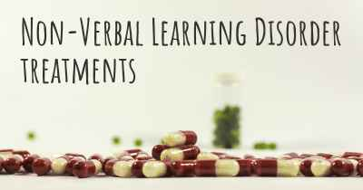 Non-Verbal Learning Disorder treatments
