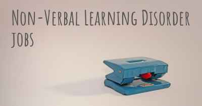 Non-Verbal Learning Disorder jobs