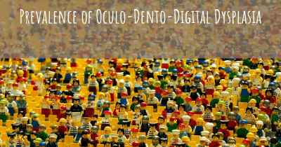Prevalence of Oculo-Dento-Digital Dysplasia