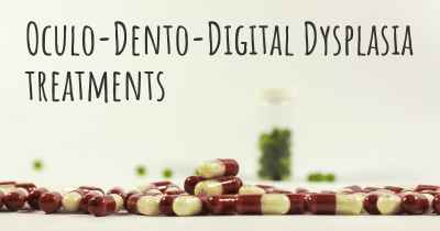 Oculo-Dento-Digital Dysplasia treatments