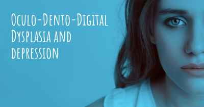 Oculo-Dento-Digital Dysplasia and depression