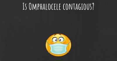 Is Omphalocele contagious?