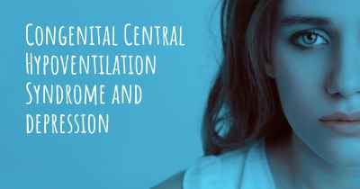 Congenital Central Hypoventilation Syndrome and depression