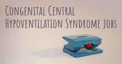 Congenital Central Hypoventilation Syndrome jobs