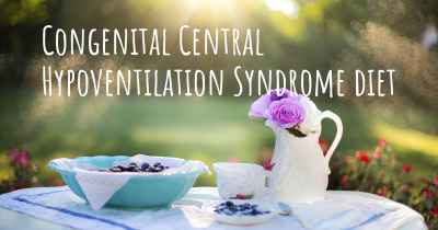 Congenital Central Hypoventilation Syndrome diet