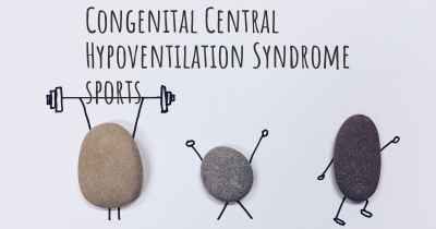 Congenital Central Hypoventilation Syndrome sports
