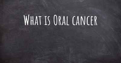 What is Oral cancer