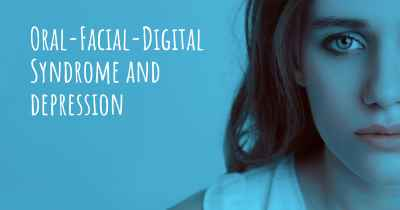 Oral-Facial-Digital Syndrome and depression