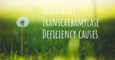 Ornithine Transcarbamylase Deficiency causes
