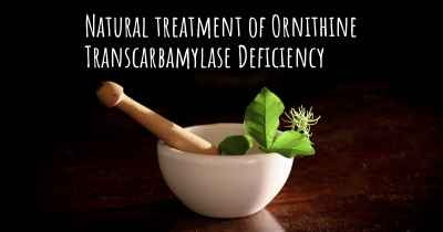 Natural treatment of Ornithine Transcarbamylase Deficiency