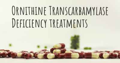 Ornithine Transcarbamylase Deficiency treatments