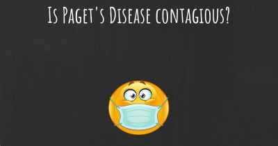 Is Paget's Disease contagious?