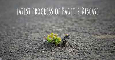 Latest progress of Paget's Disease