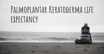 Palmoplantar Keratoderma life expectancy