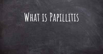 What is Papillitis