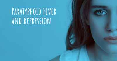 Paratyphoid Fever and depression