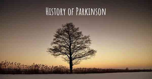 History of Parkinson