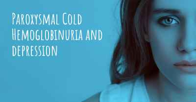 Paroxysmal Cold Hemoglobinuria and depression