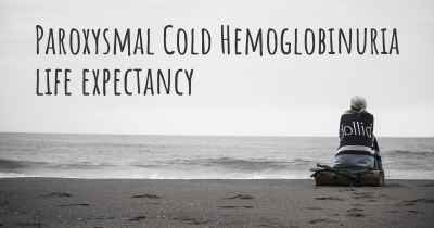 Paroxysmal Cold Hemoglobinuria life expectancy