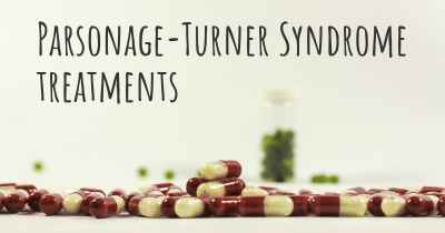 Parsonage-Turner Syndrome treatments