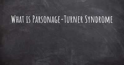 What is Parsonage-Turner Syndrome